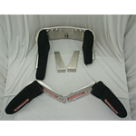 Additional Images for RESTRAINT KIT - ALUMINUM HEAD AND SHOULDER RESTRAINT KIT WITH BLACK COVER