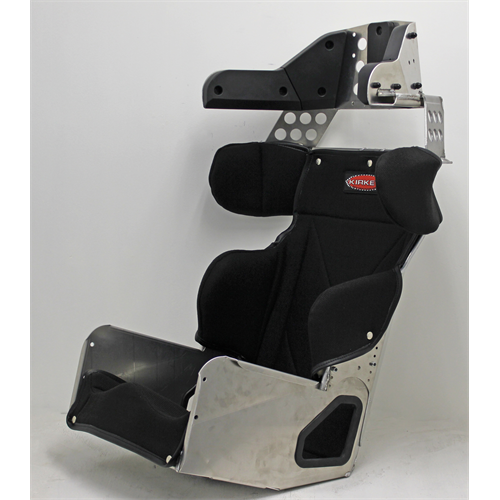"SEAT KIT - 14"" STANDARD 20º LAYBACK CONTAINMENT SEAT & BLACK COVER"