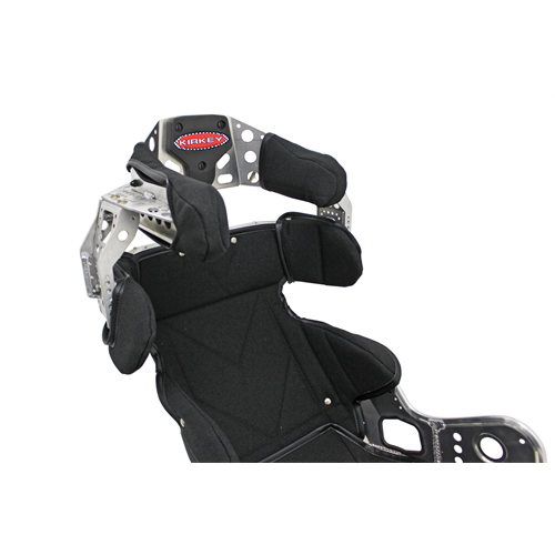 "SEAT KIT -  ALUMINUM 15"" - 40 DEG. LAYBACK ADJUSTABLE CONTAINMENT & BLACK COVER"