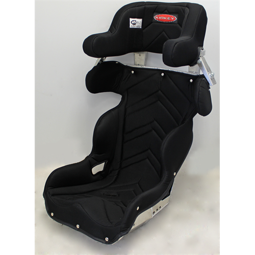 "SEAT KIT  - ALUMINUM 18"" LAND SPEED CONTAINMENT SEAT  &  BLACK COVER"