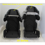 "Additional Images for SEAT KIT- 14"" CHILD ADJUSTABLE CONTAINMENT With BLACK COVER"