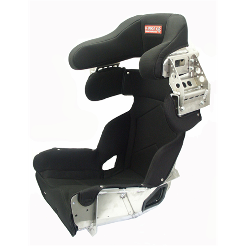 "SEAT KIT - 17"" DELUXE 15º LAYBACK CONTAINMENT SEAT & BLACK COVER"