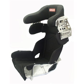 "SEAT KIT - 73 SERIES - ALUMINUM 15"" DELUXE CONTAINMENT SEAT WITH BLACK COVER"