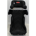 "Additional Images for SEAT KIT  - ALUMINUM 18"" LAND SPEED CONTAINMENT SEAT  &  BLACK COVER"