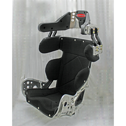 "SEAT KIT - SPRINT CAR - 14"" DELUXE 10º LAYBACK CONTAINMENT & BLACK COVER"