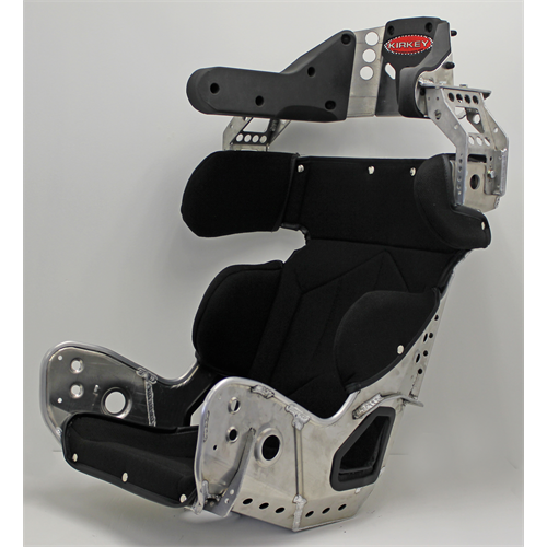 "SEAT KIT - 18.5"" INTERMEDIATE 18º LAYBACK CONTAINMENT SEAT & BLACK COVER"