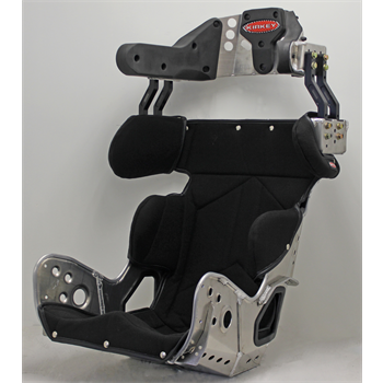 78 Series Kit - SFI 39.2 Late Model Deluxe 18º Layback Containment Seat & Black