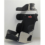 "Additional Images for SEAT KIT - 17"" STANDARD 20º LAYBACK CONTAINMENT SEAT & BLACK COVER"