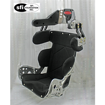 79 Series - Sprint Car, DIRT Modified, Deluxe 10º Layback Containment Seat Cover