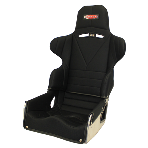 "SEAT KIT - 17"" ADJUSTABLE LAYBACK ROAD RACE & BLACK COVER"