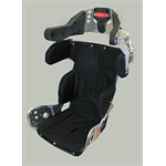 "SEAT KIT - 16"" INTERMEDIATE 10º LAYBACK CONTAINMENT SEAT & BLACK COVER"