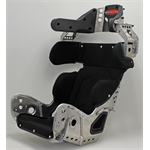 "SEAT KIT - 14"" INTERMEDIATE 18º LAYBACK CONTAINMENT SEAT & BLACK COVER"