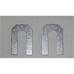 "A FRAME MOUNT- 1"" C Plates (PAIR) 37 SERIES"